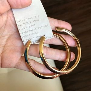 NWT Anthropologie hoop earrings earrings g…